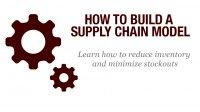 This is a course on Udemy that shows how to build a supply chain model in Excel. The example describes how to model the supply chain of a product with multiple packaging for different markets in different countries.