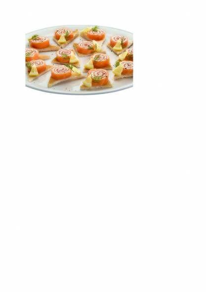 Zalmrolletjes recept | Smulweb.nl