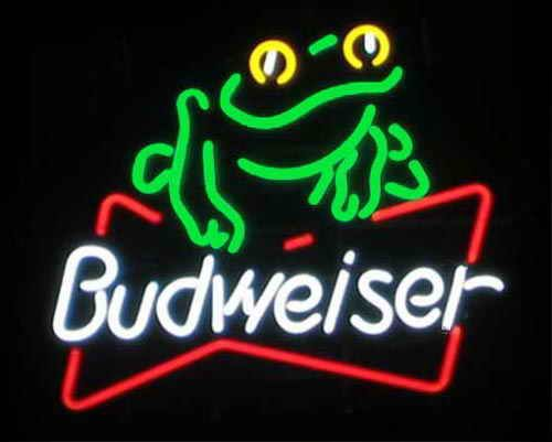 Budweiser Frog Neon Signs