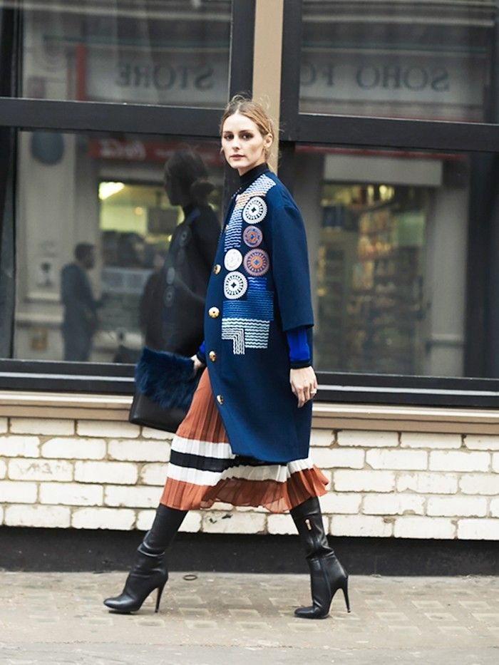 Under $150: Where to Get Olivia Palermo's Perfect Striped Skirt via @WhoWhatWear