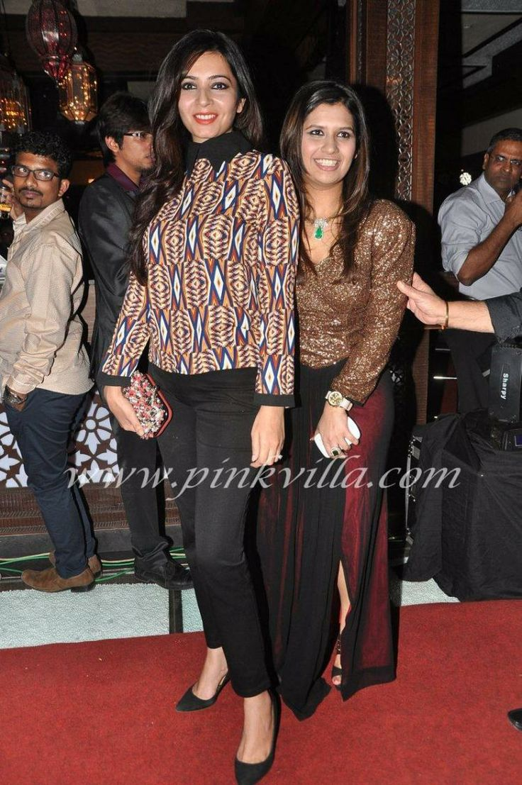 Mugdha Godse, Karishma Kotak at Manali Jagtap and Ghana Singh event | PINKVILLA