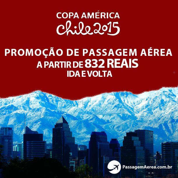 É fanático por futebol? Garanta suas passagens aéreas para o Chile em 2015!  Saiba mais: https://www.passagemaerea.com.br/promocional-copa-america-2015-chile.html  #CopaAmérica #Chile2015 #copaamericachile2015 #passagemaerea