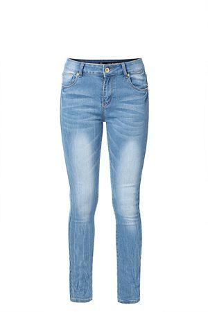 #myORwinter Stone wash. Regular rise waist. Creasing detail. Skinny fit.