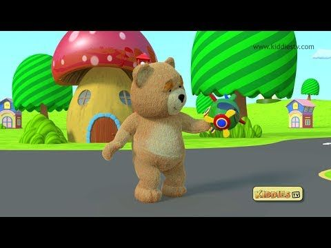 Teddy bear toys and helicopter | Best toy videos | Best children learning | Kiddiestv - YouTube