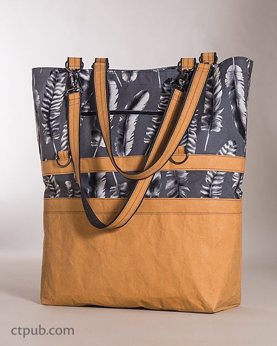 The 3-in-1 Betsy Bag by Betsy LaHonta featuring Black&White Fabric by Jennifer Sampou