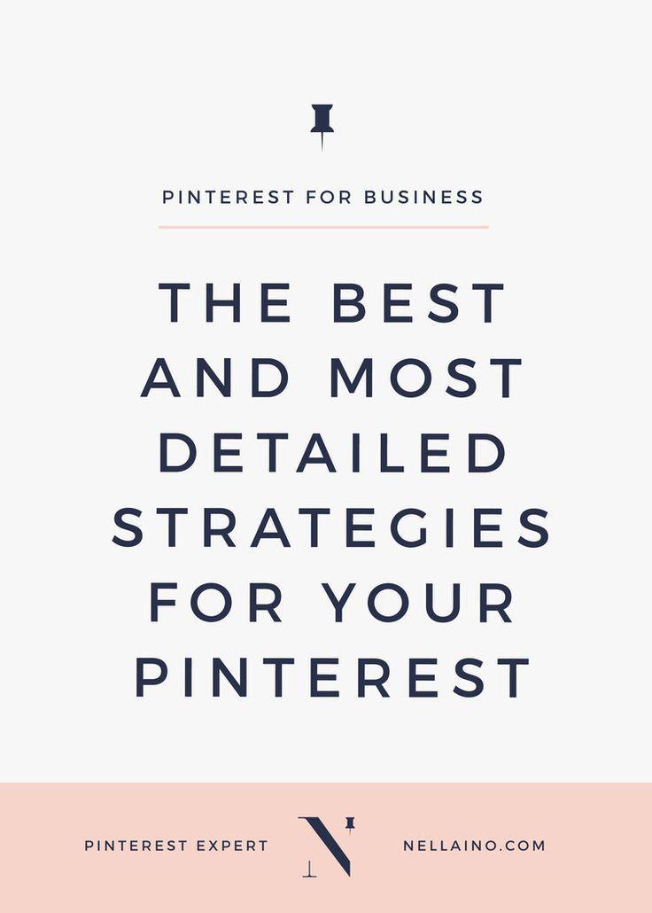 Pinterest strategies for small businesses via Nellaino www.nellaino.com/blog #pinteresttips