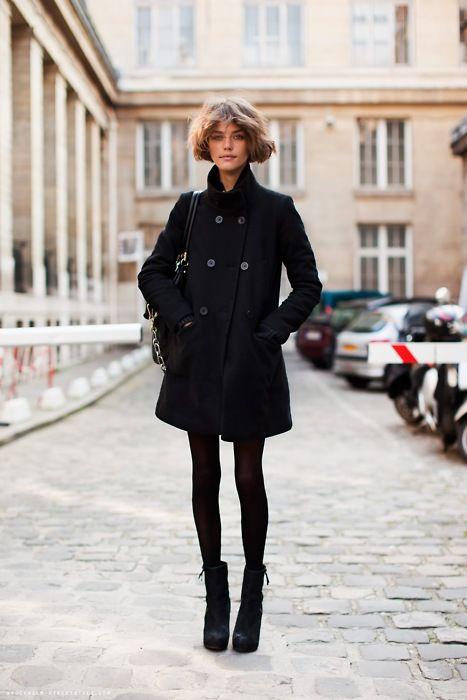 winter black.