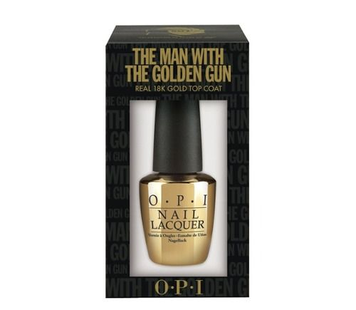 OPI The Man With The Golden Gun nail polish to celebrate 50 years of James Bond movies and the release of Skyfall