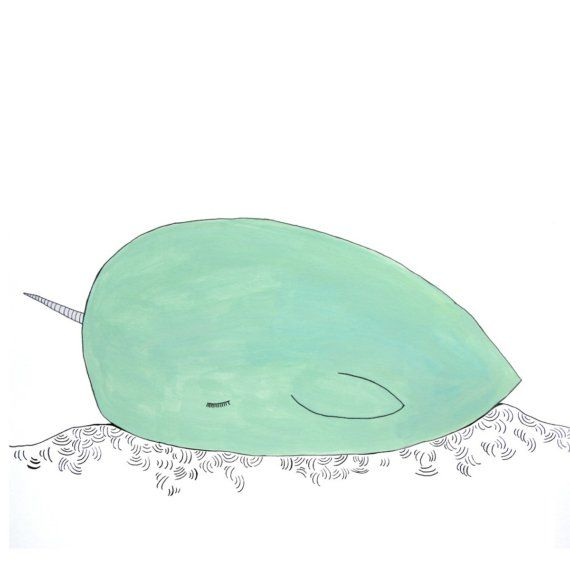 Narwhal Print For Baby's Nursery!