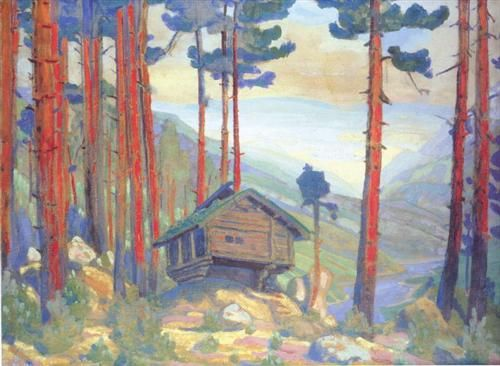 Solveig's Song (Hut in the forest) - Nikolái Roerich