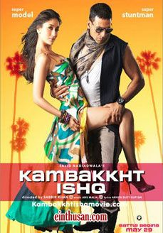 Kambakkht Ishq Hindi Movie Online - Kiran Kotrial, Anvita Dutt Guptan and Ishita Mohitra. Directed by Sabbir Khan. Music by Anu Malik. 2009 Kambakkht Ishq Tamil Movie Online.