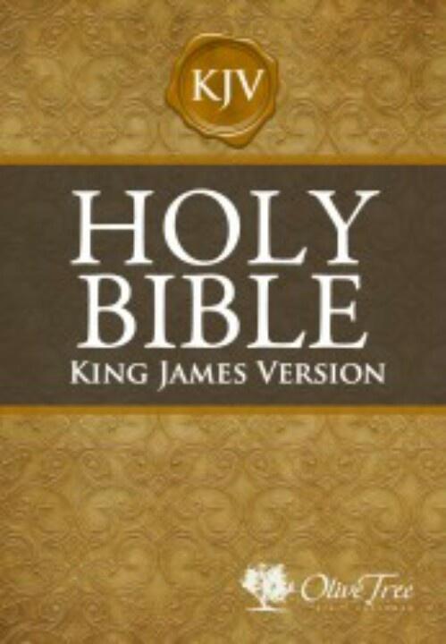 My favorite book Holy bible king james, Bible king james