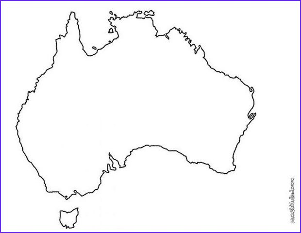 Australia Coloring Pages Australia Day Colouring In Petition