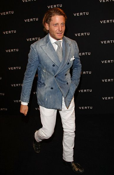Lapo Elkann Photo - Vertu Global Launch Of The 'Constellation' In Milan - Arrivals