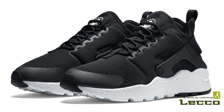 Женские кроссовки Nike Air Huarache Run Ultra Black/White