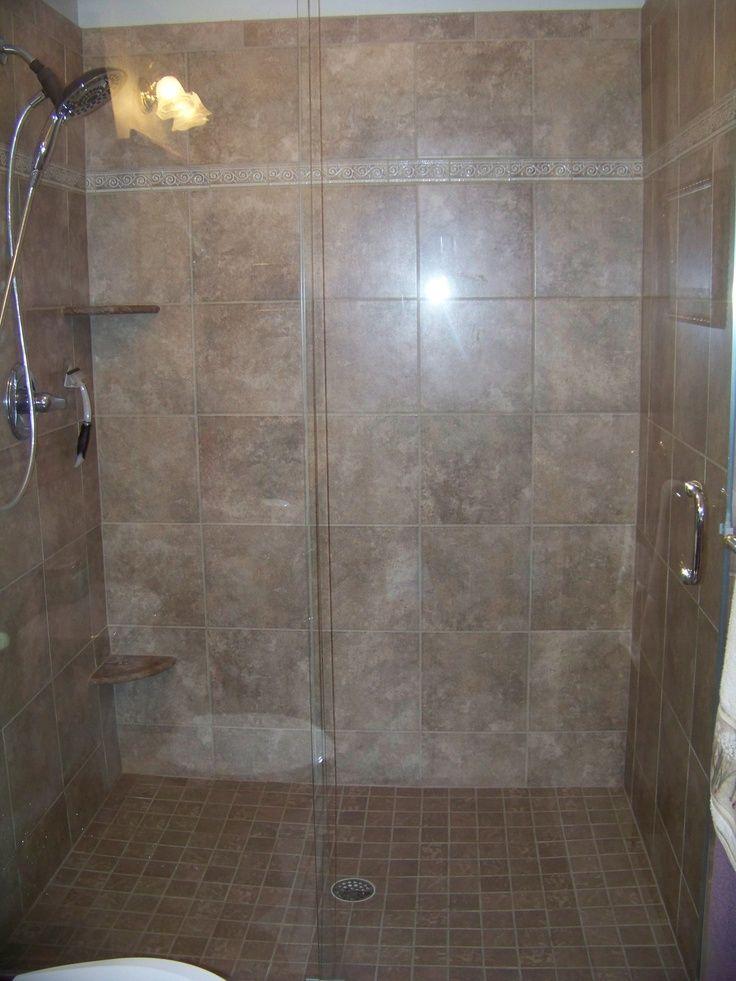 holte unsere Wanne raus und stellte eine Dusche auf