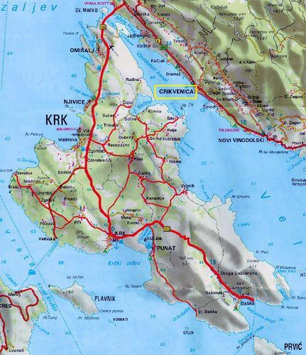 info - island krk