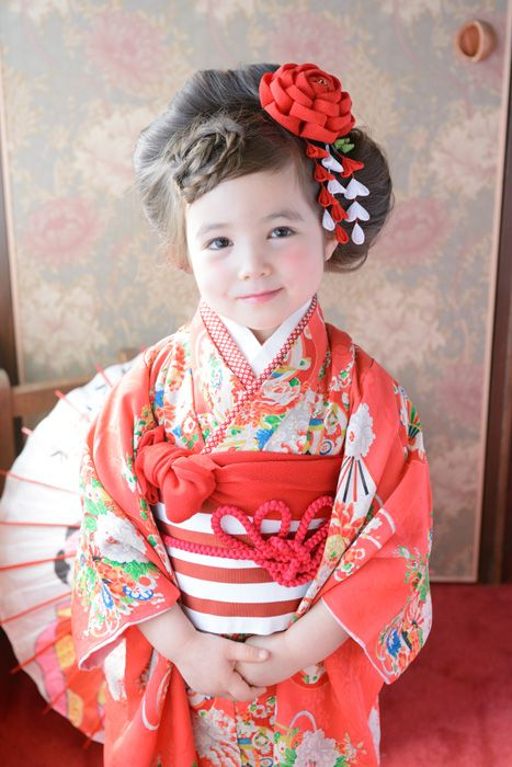 Shichigosan/ boy 5 years old/ girl 3 and 7 years old( November 15) Japan/ festival3-48るる