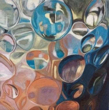 "Saatchi Art Artist Sonja Alfreider; Painting, ""Day Dream 1"" #art"
