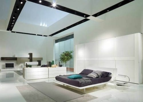 Ultramodern Bedroom Furniture - Ultramodern Style - http://interiordesign4.com/ultramodern-bedroom-furniture-ultramodern-style/