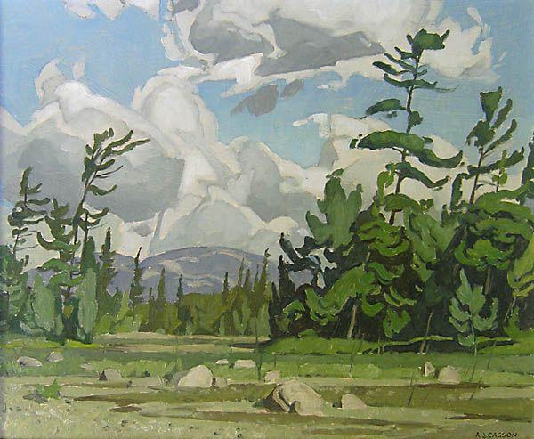 Alfred Joseph Casson, 'La Cloche Island' at Mayberry Fine Art