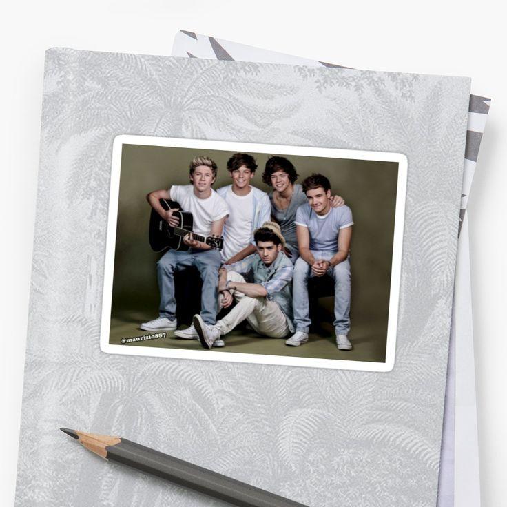 One Direction, Harry Styles, Niall Horan, Liam Payne, Louis Tomlinson, Zayn Malik, 1D, OT5, One Direction Sticker, 1D Merch, One Direction Funny, One Direction Memes, 1D Edits