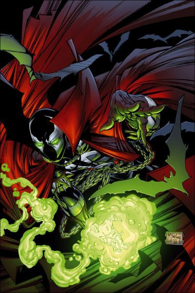 Spawn - original by Todd McFarlane, the first icon of Image Comics and flagship to a huge franchise.