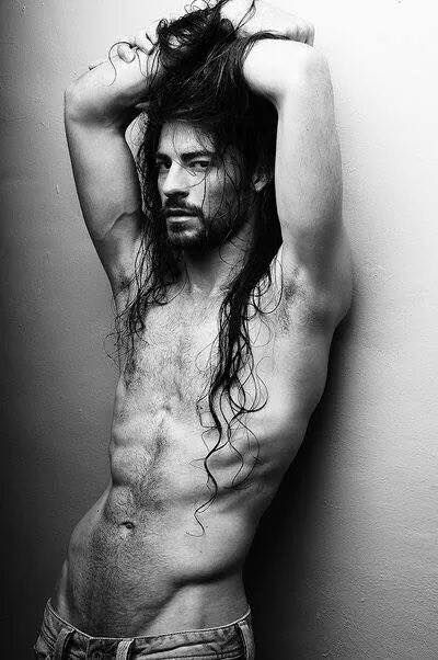 Resultado de imagen para Sexy Black Men long hair
