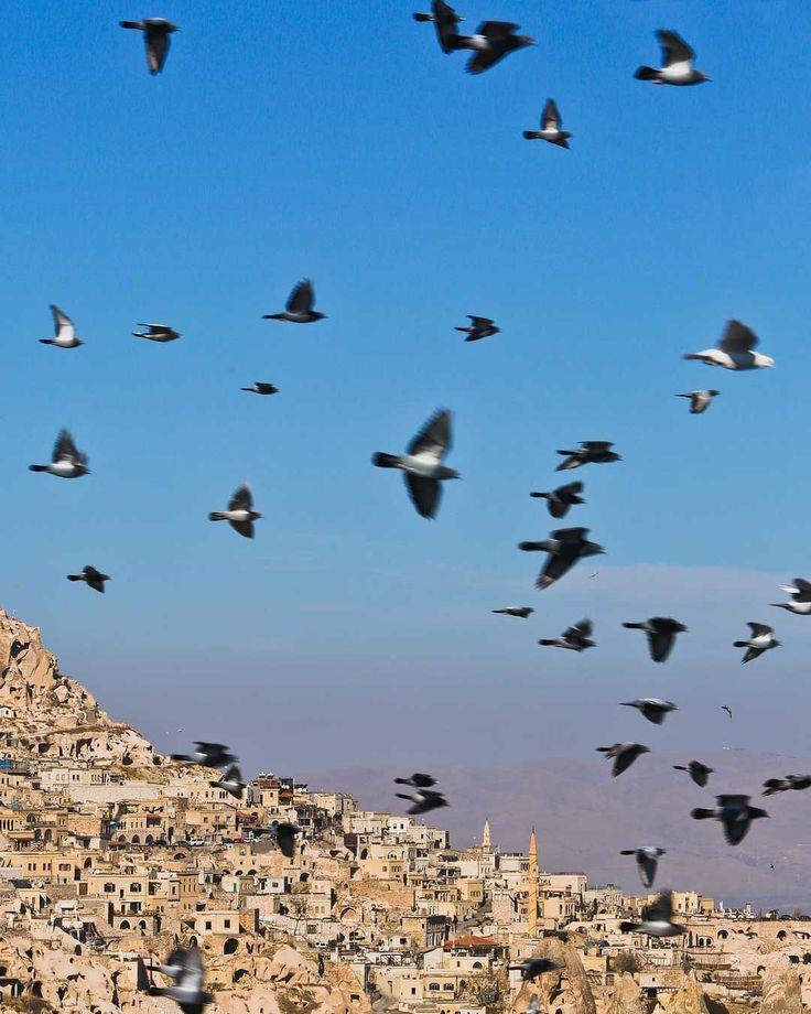 Pigeon Valley, Cappadocia, Turkey - Put a bird on it. 🐦 via @estherjulee