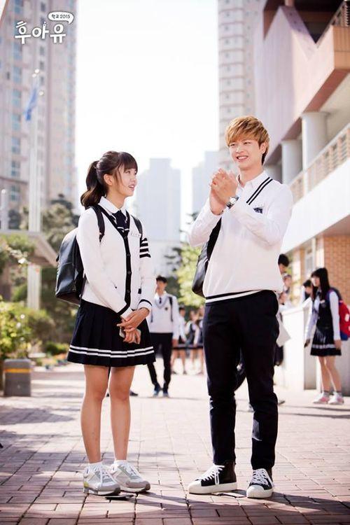 Eun-bi & Gong Tae-Kwang | WHO ARE YOU : SCHOOL 2015 | Pinterest