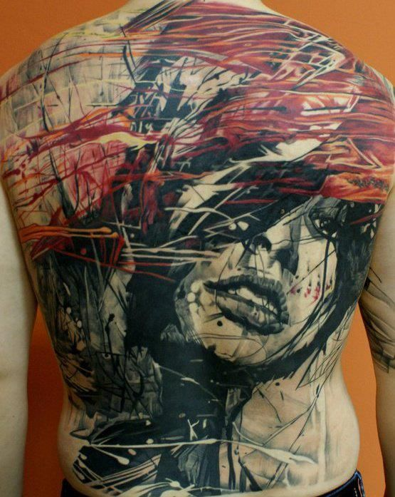 One of the most amazing tattoos I have ever seen