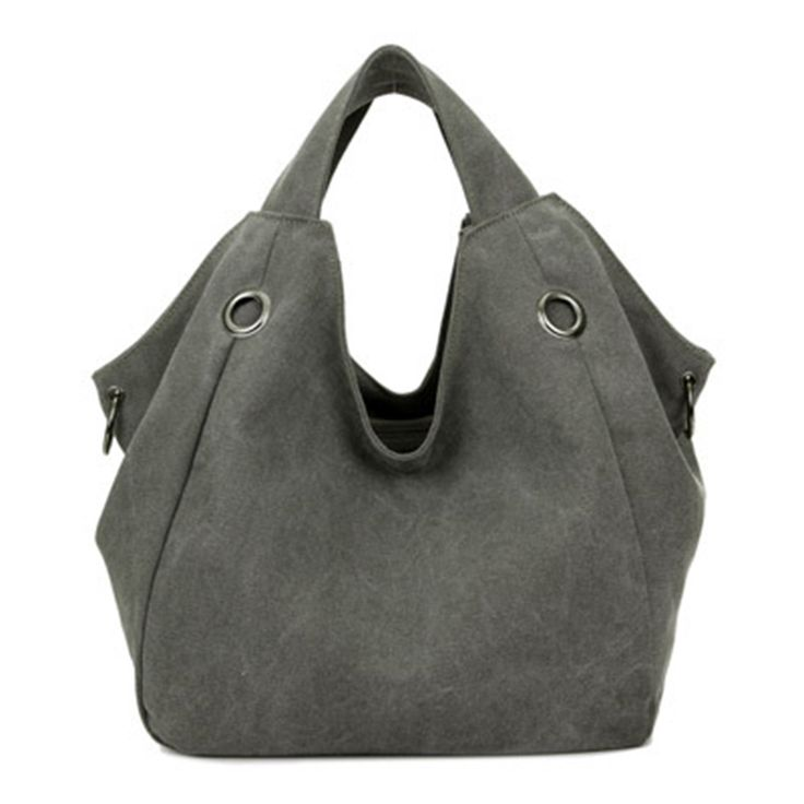 2017 Hot Sale Women's Handbag Large Design Canvas Women Bag Ladies Tote Bag Solid Shoulder Bag Travel Bag Bolsos Mujer XA378D