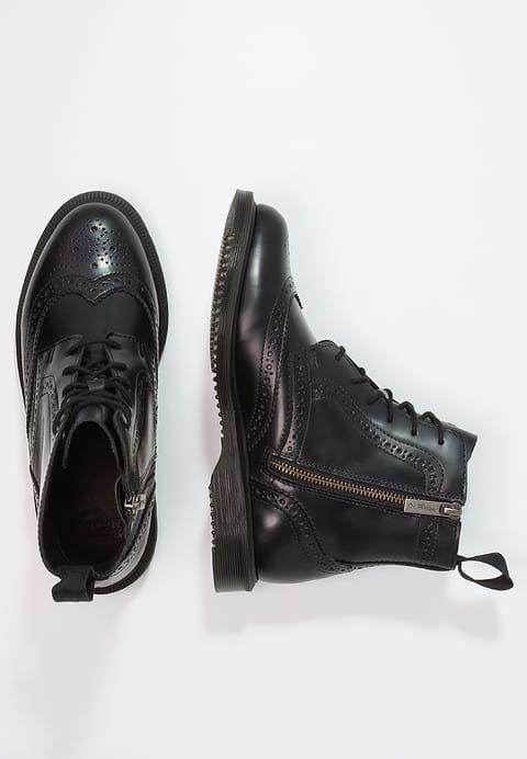 Chaussures Dr. Martens DELPHINE 8 EYE BROGUE POLISHED SMOOTH - Bottines à  lacets - black noir  179,95 € chez Zalando (au 25 02 18). 611257e5106c