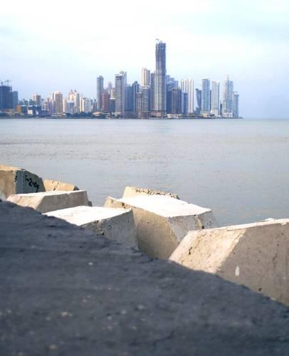 Panama City, Panama: A cityscape of Panama City, Panama.