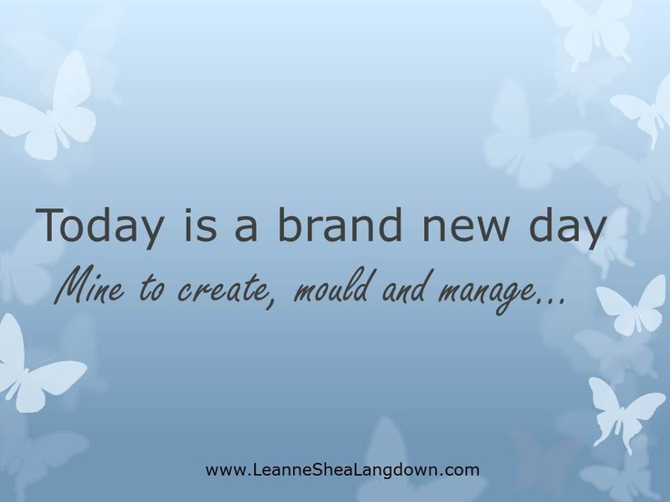 Create your day!