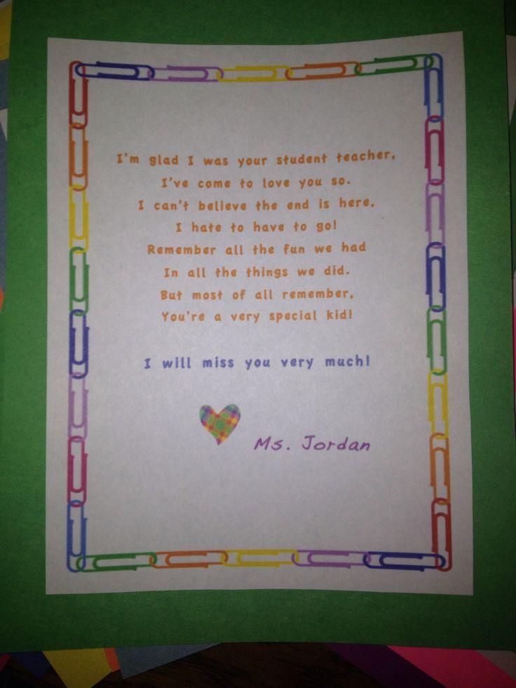 letter from teacher to students Oylekalakaarico