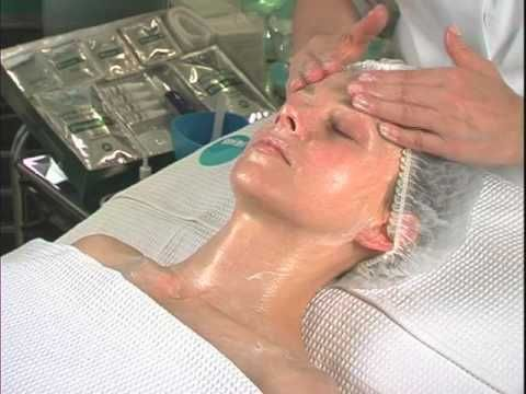 Facial Massage with every important muscle of the face listed. by Lydia Sarfati - Repechage.com - YouTube