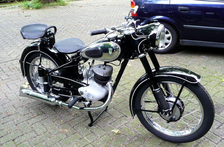 dkw rt 250h 1953