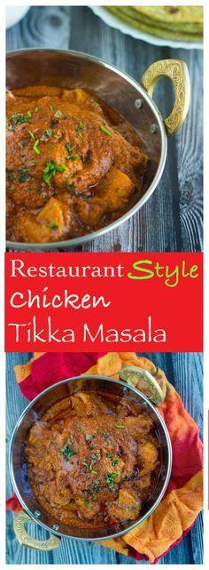 Restaurant Style CHICKEN TIKKA MASALA | Famous Indian Curry