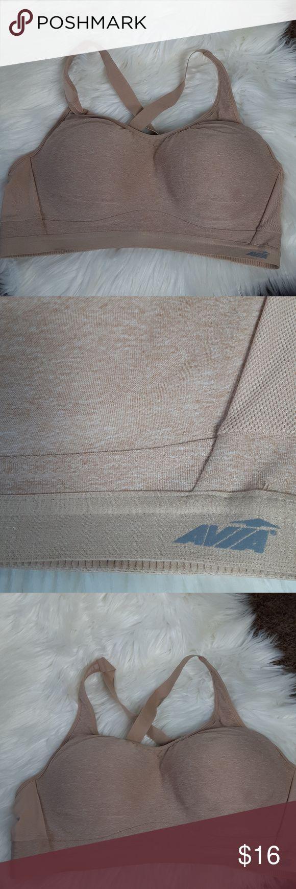 Avia Plus Size Padded Flexwire Sport Bra Size 40DD Avia
