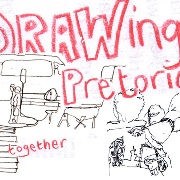 DRAWing Pretoria Together - This project is about initiating observational or imaginary drawings from various trained and untrained creatives across Pretoria and spreading them far and wide. The creatives will consist of three main groups. Firstly, trained artist, designers and architects. Secondly, drawings from children in selected schools in Pretoria and thirdly from passengers in taxi's in which we place a sketchbook with some guidelines.