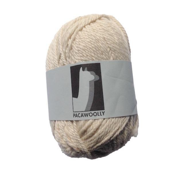 Pacawoolly Adagio White, 100% Australian Alpaca, 8 ply, 50g - I Wool Knit - 1