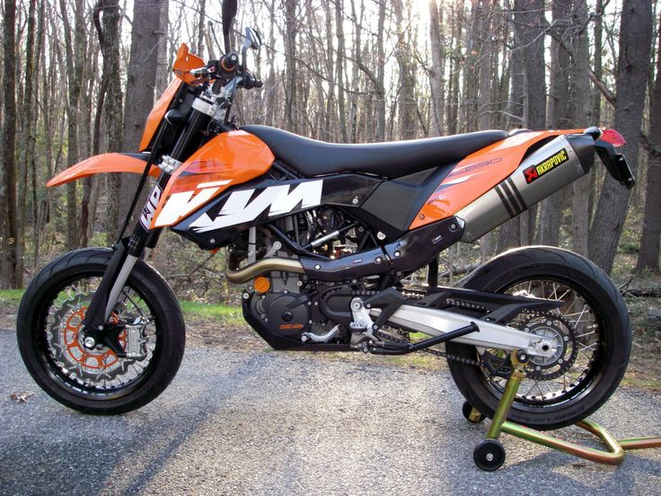 #Ktm 690 SMC 2008 #supermotard