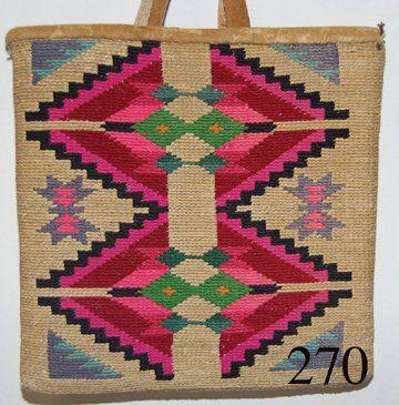 270: NEZ PERCE CORN HUSK BAG : Lot 270