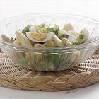 Maaltijdsalade met asperges, ei en kaas - recept - okoko recepten