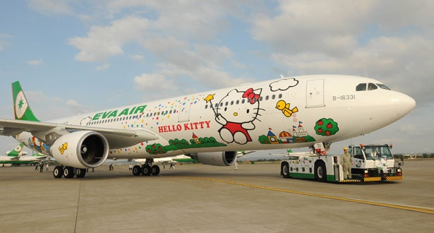 Plane cute: Hello Kitty airways - New Hello Kitty Airplanes - Cute - Stylist Magazine