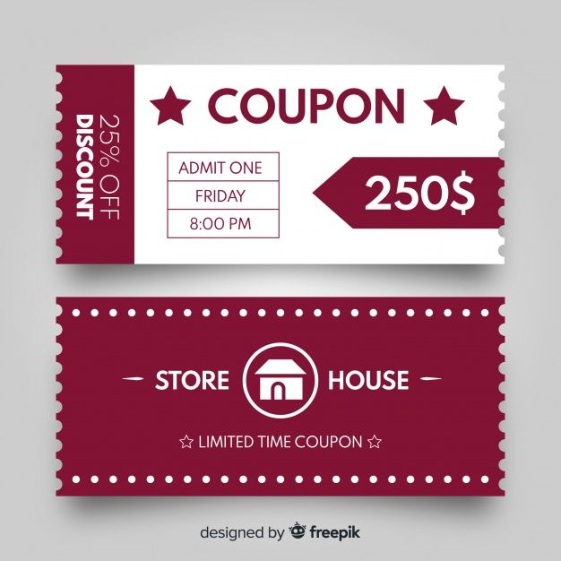 Download Discount Coupon Templates For Free Coupon Template Free Coupon Template Voucher Design