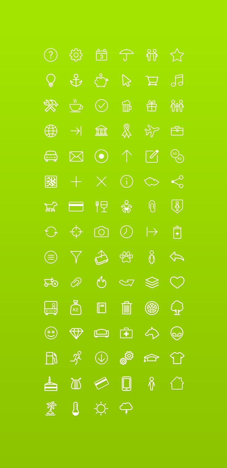 Osilly  / Air Bank Icon Set #icons #ui