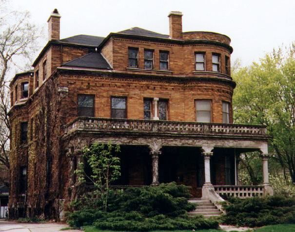 The Oscar Mayer mansion, Evanston, Illinois