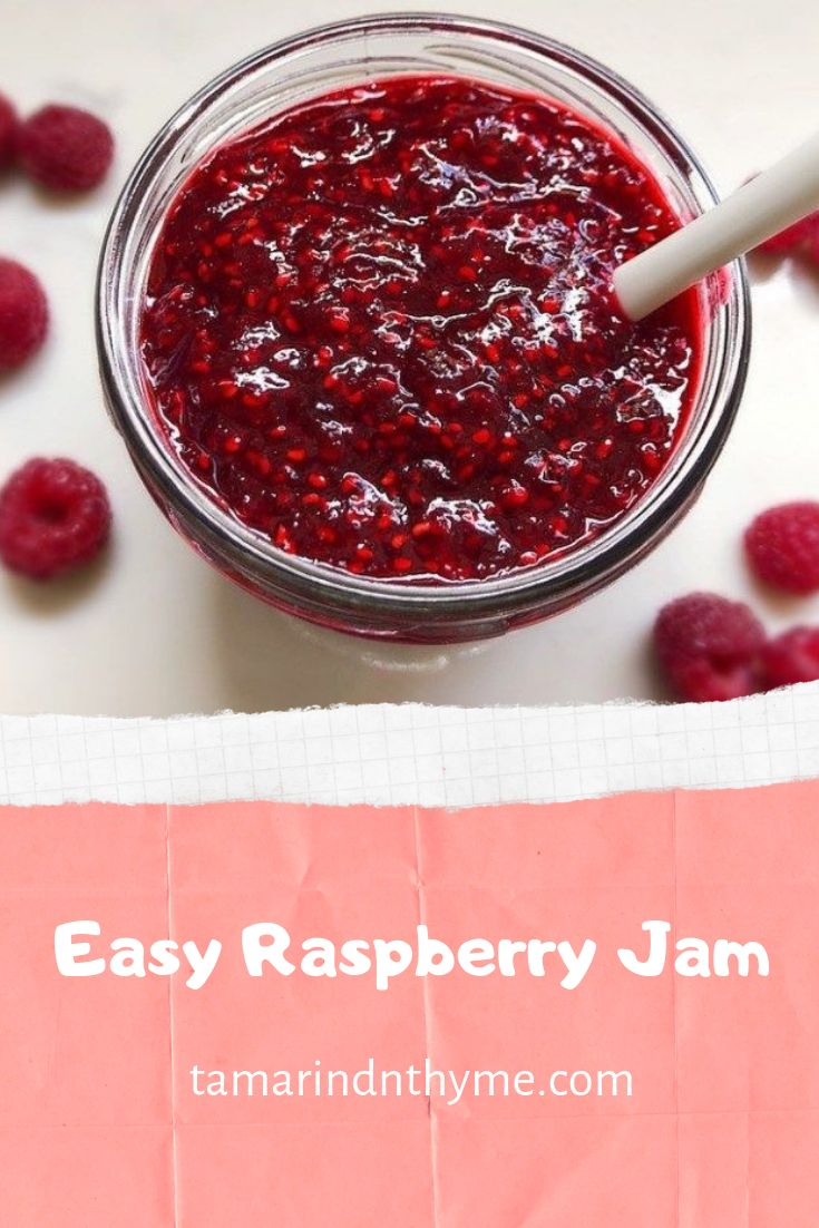 Easy Raspberry Jam